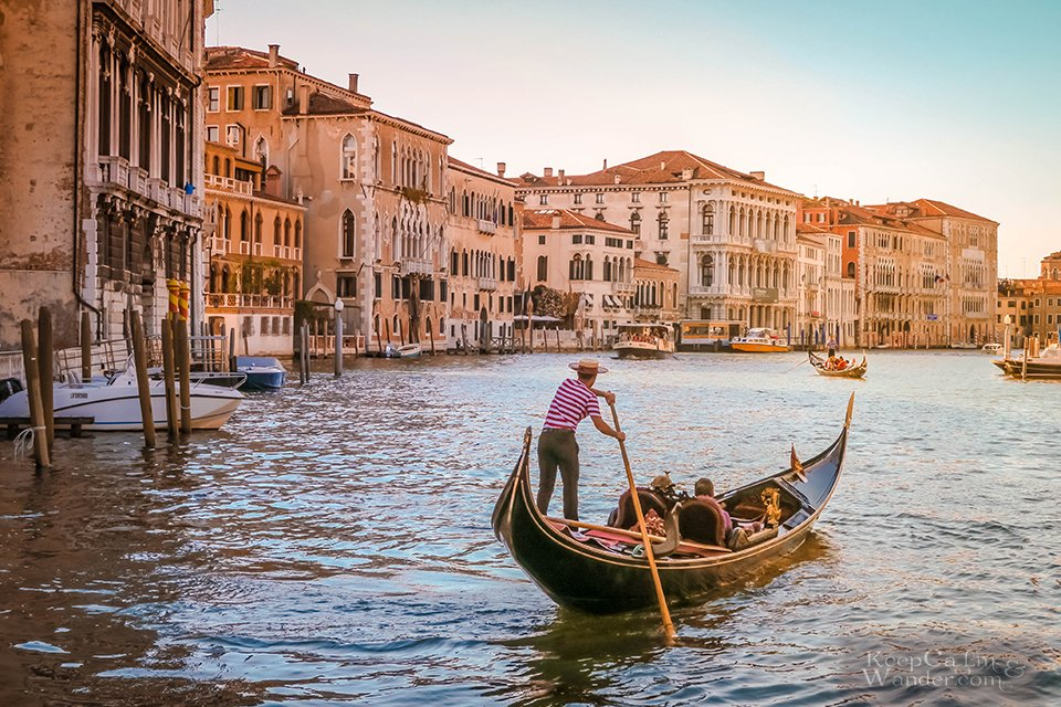 Gondola Things to Do in Venice (Italy).