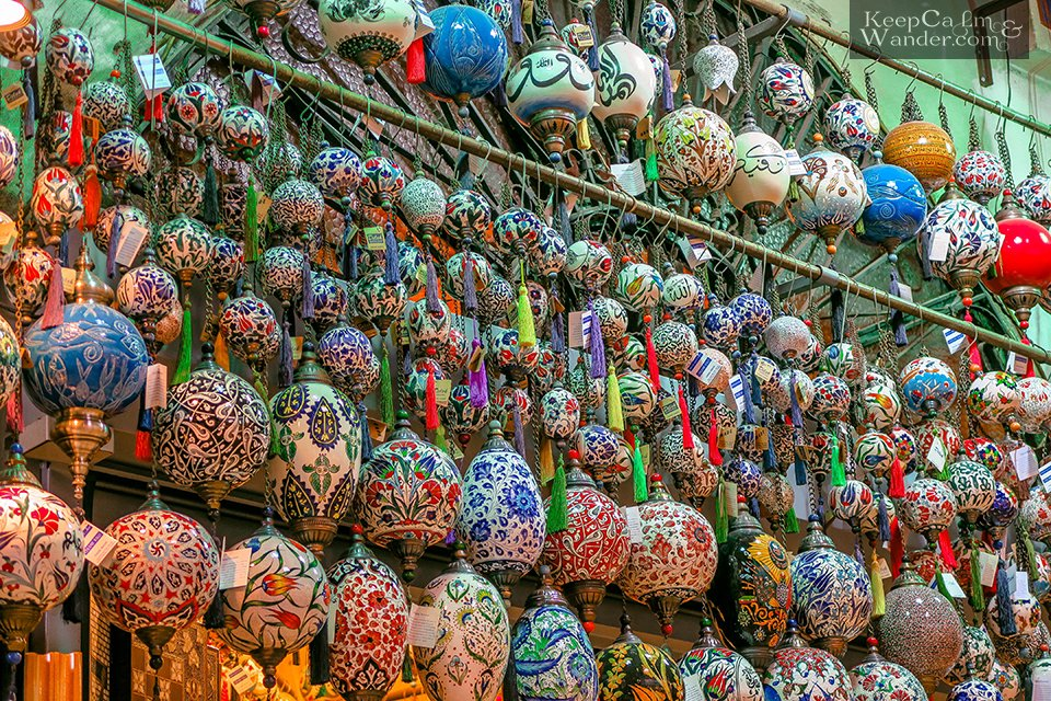 Shop 'Till You Drop at the Istanbul's Grand Bazaar – The World's Most Visited Tourist Attraction (Turkey).