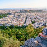 City Skyline: The Views of Athens from Mt Lycabettus
