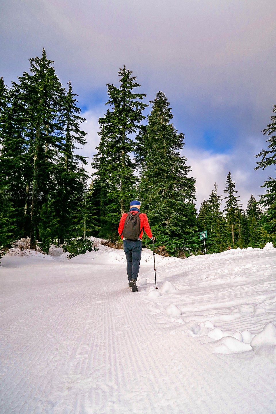 The Hiking Trail to Hollyburn Lodge in Winter (West Vancouver, British Columbia). Canada Parks Travel Blog