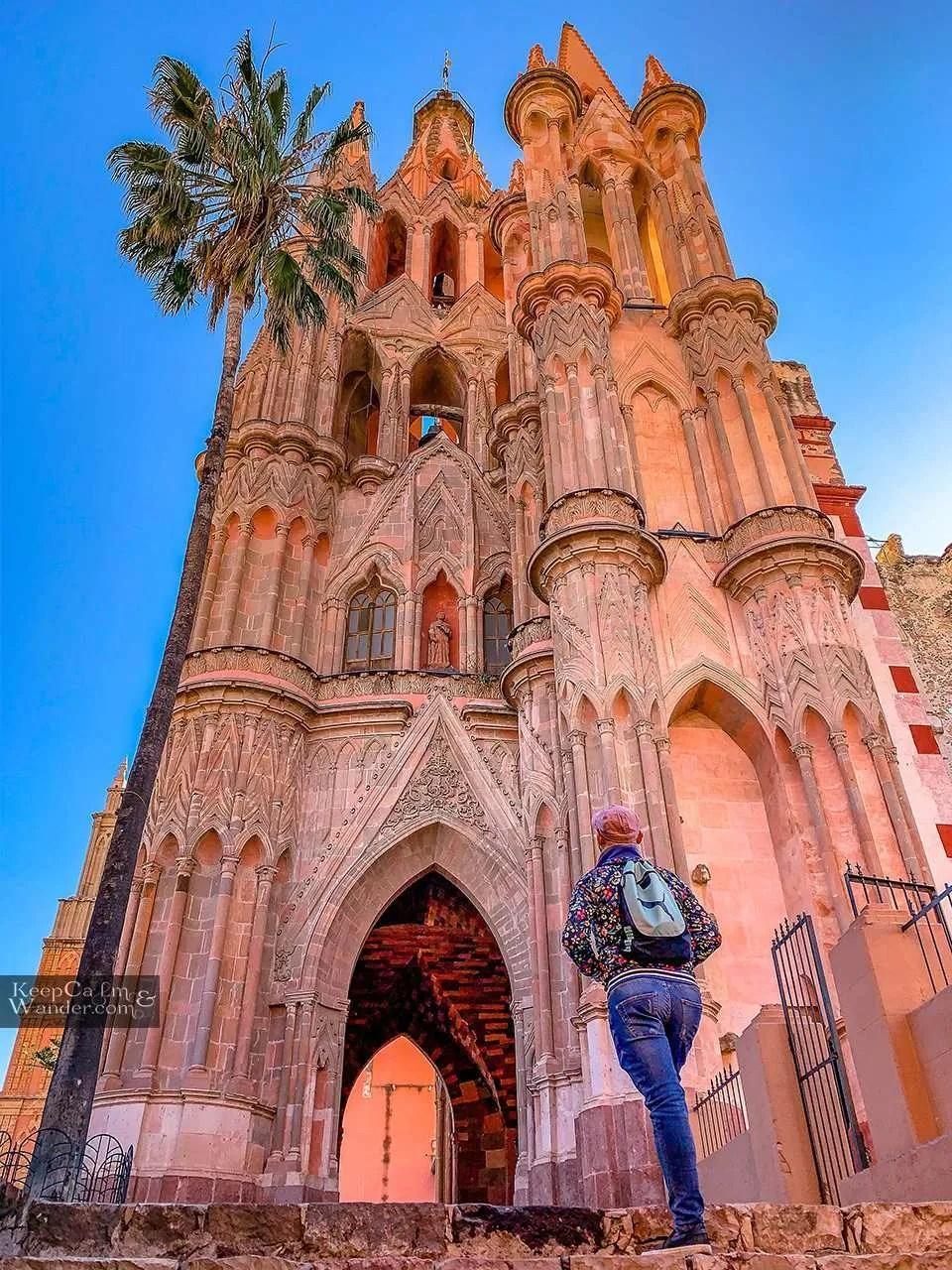 Parroquia de San Miguel Arcangel (Mexico). Travel Blog