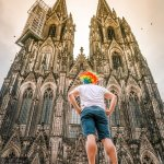 The Facade of Cologne Cathedral