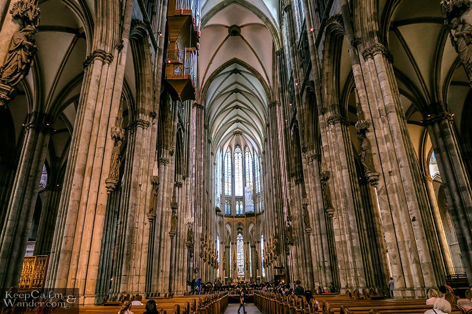 Gothic Architecture (Koln Cathedral, Germany).
