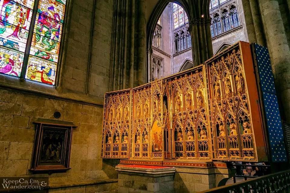 Chapel at Koln Catedral Germany Travel Blog