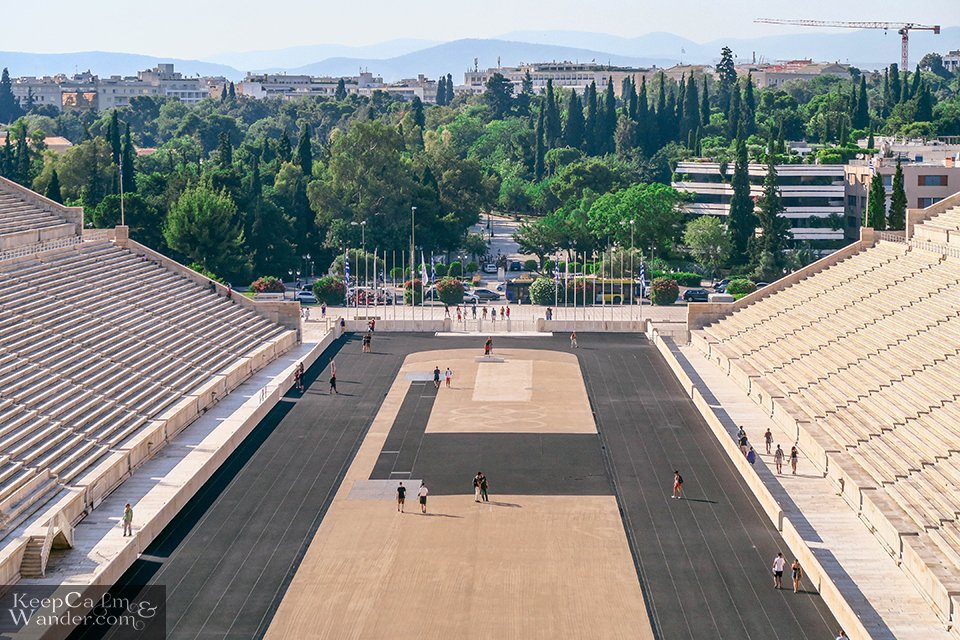 The Olympic Stadium in Athens, Greece. Travel