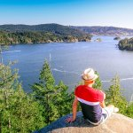 Photos: Quarry Rock Trail in Deep Cove and the Views from Above