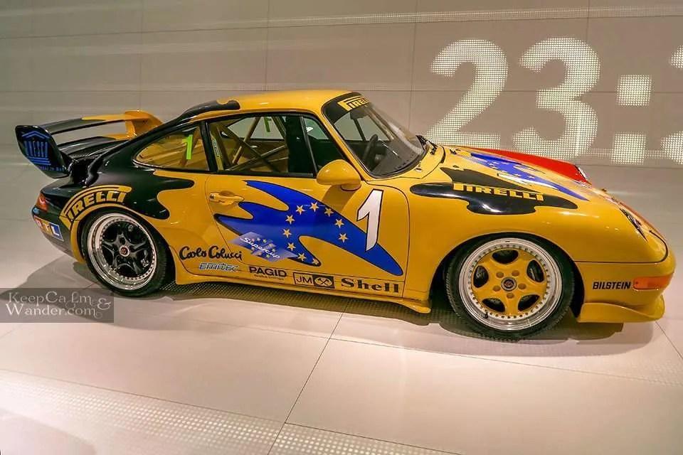 Travel Blog Inside the Porsche Museum in Stuttgart (Germany).