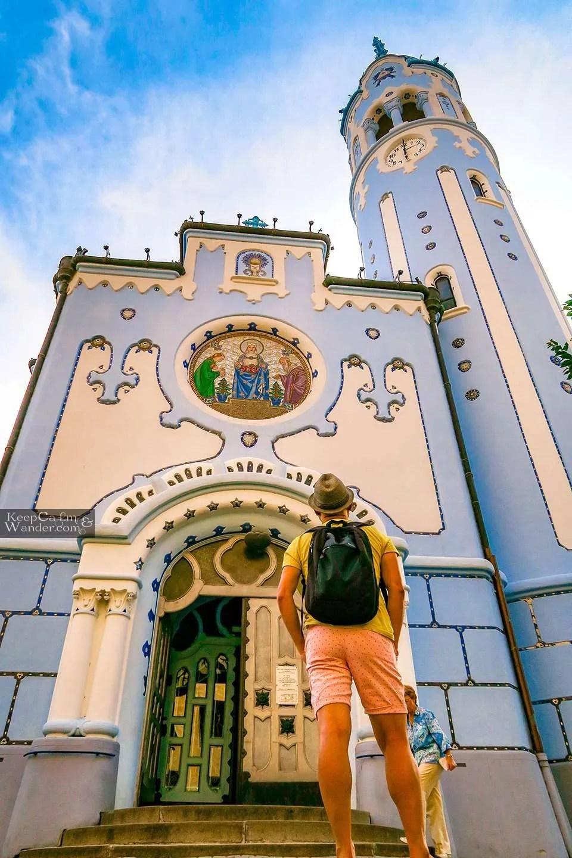 Bratislava's Blue Church Hostel Hotel