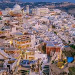 Fira Santorini at Night Will Leave You Breathless