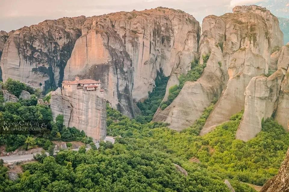 Hotel in Meteora Travel Blog