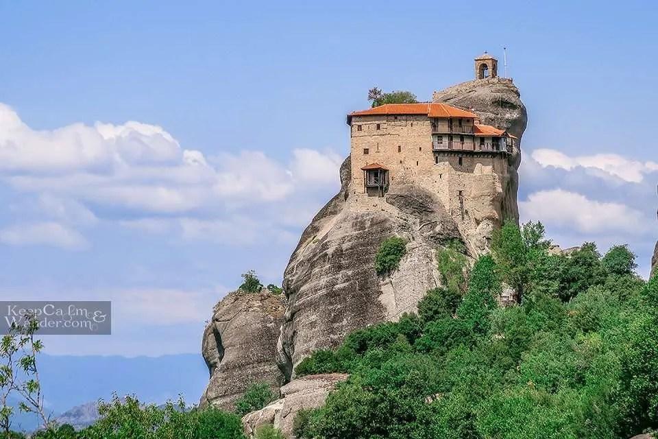 Holy Monastery of St. Nicholas Anapafsas (Meteora, Greece). Travel Blog Photo