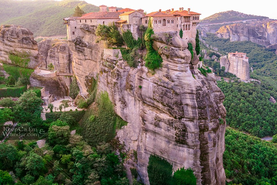 Varlaam Monastery in Meteora, Greece.
