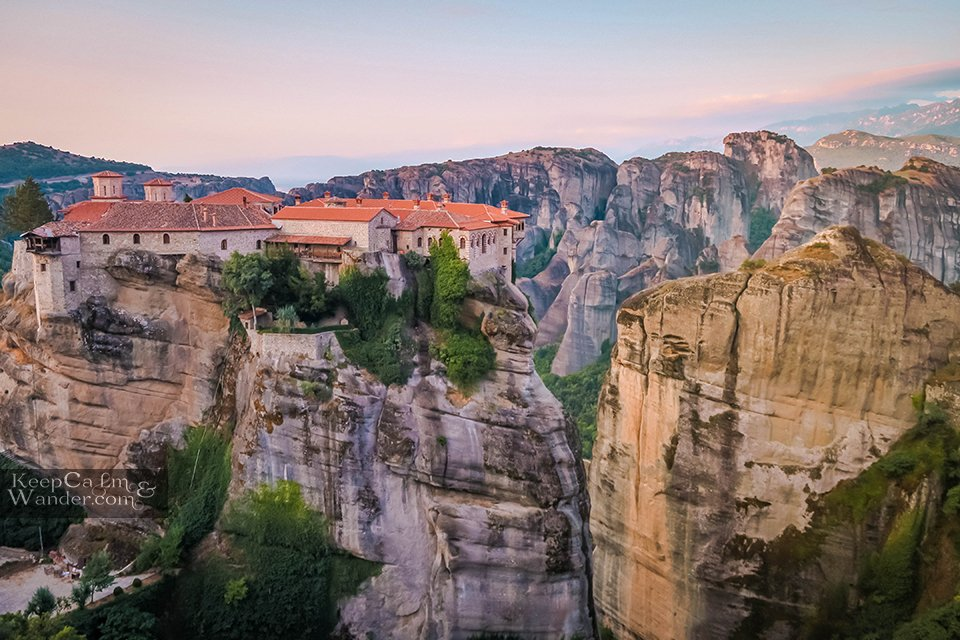 Monasteries in Meteora Travel Blog Hotel in Meteora