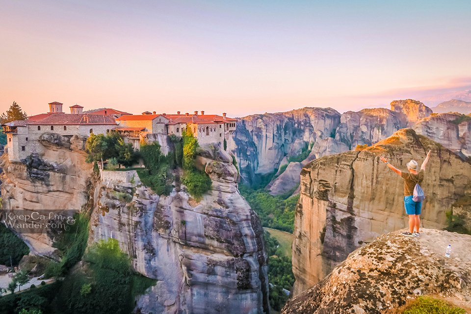Six monasteries in Meteora re open to the public (Greece).