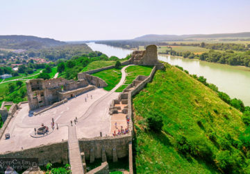 Devin Castle in Bratislava, Slovak Republic