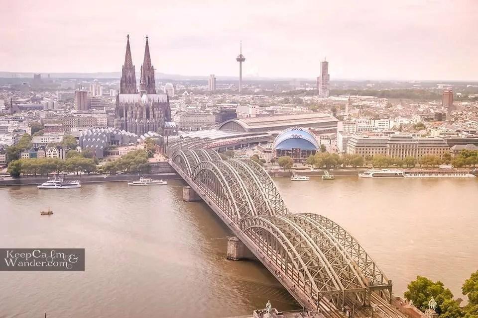Cologne Skyline from KolnSky Germany Travel Blog