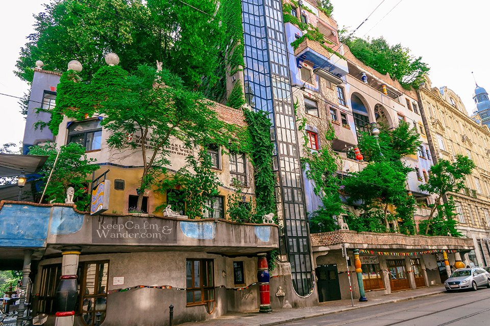 The Hundertwasser Houses in Vienna are Marvelously Weird and Colourful! Austria