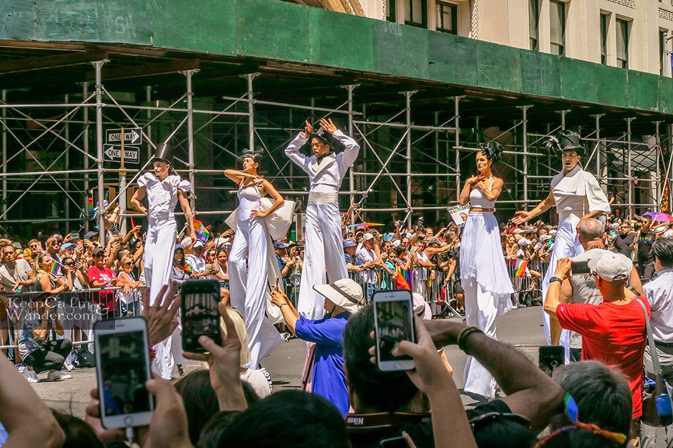 Pose Grand Marshall at NYC WorldPride 2019