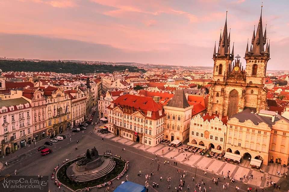 Prague Skyline is Mini Europe in One City Travel Blog