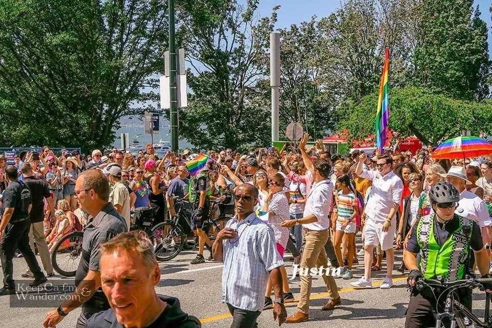 Vancouver Pride Parade 2019 Justin Trudeau