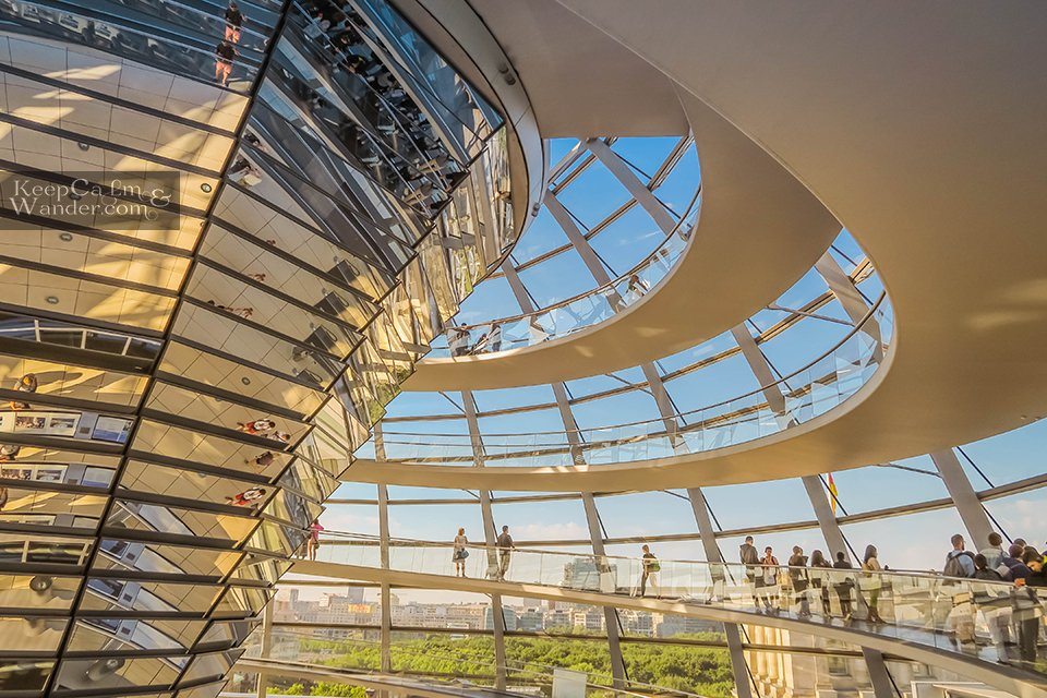 Reichstag Dome in Berlin Germany Attractions