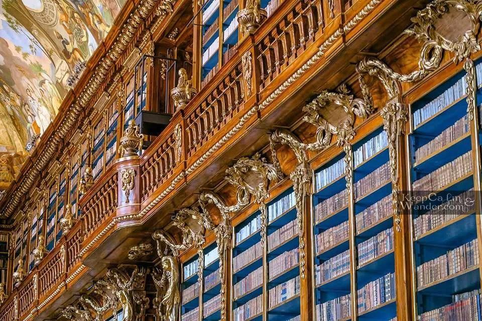 Klementinum and Strahov Monastery Library