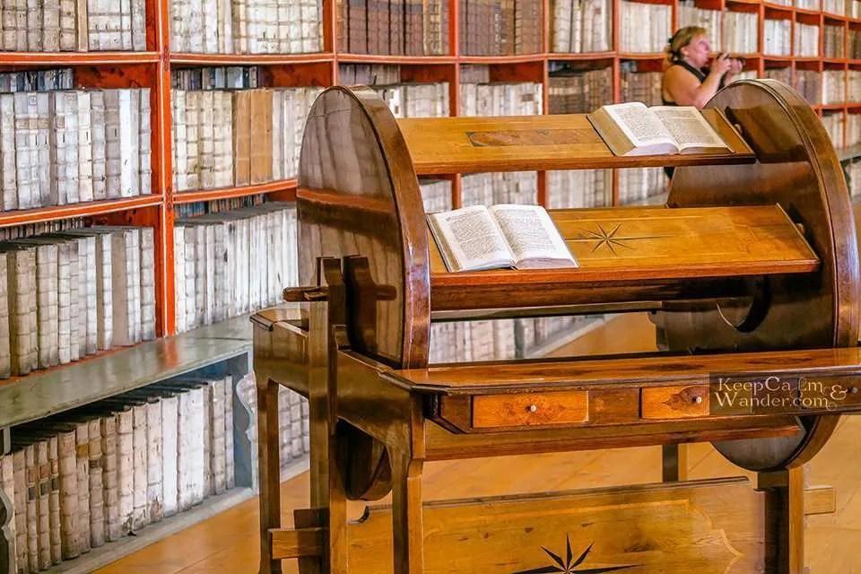 Klementinum and Strahov Monastery Library in  Prague.