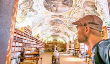 Prague Klementinum and Strahov Monastery Library