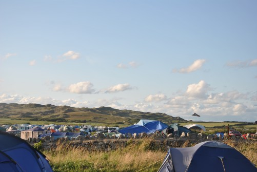 Llangennith Beach: camping