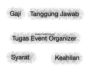 Tugas Event Organizer