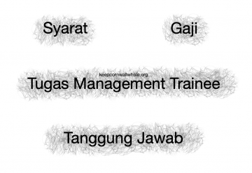 Tugas Management Trainee
