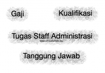 Tugas Staff Administrasi