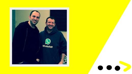 WhatsApp Founders Jan Koum (Left) and Brian Acton (Right).