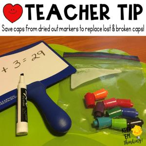 KEEP EM THINKING DRY ERASE TEACHER TIPS