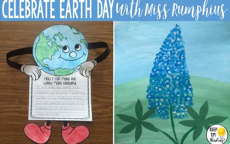CELEBRATE EARTH DAY WITH MISS RUMPHIUS