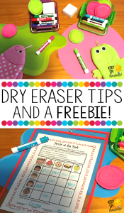 KEEP EM THINKING DRY ERASE TIPS AND A FREEBIE