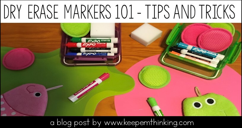 dry erase markers tips