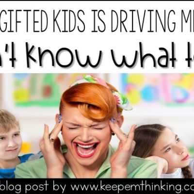 TEACHING GIFTED KIDS IN THE REGULAR CLASSROOM: HELP AND SUPPORT