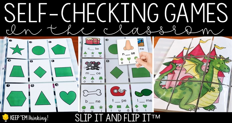 image of self-checking phonics game