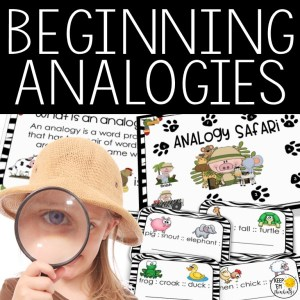 Beginning analogies product for grades K-2