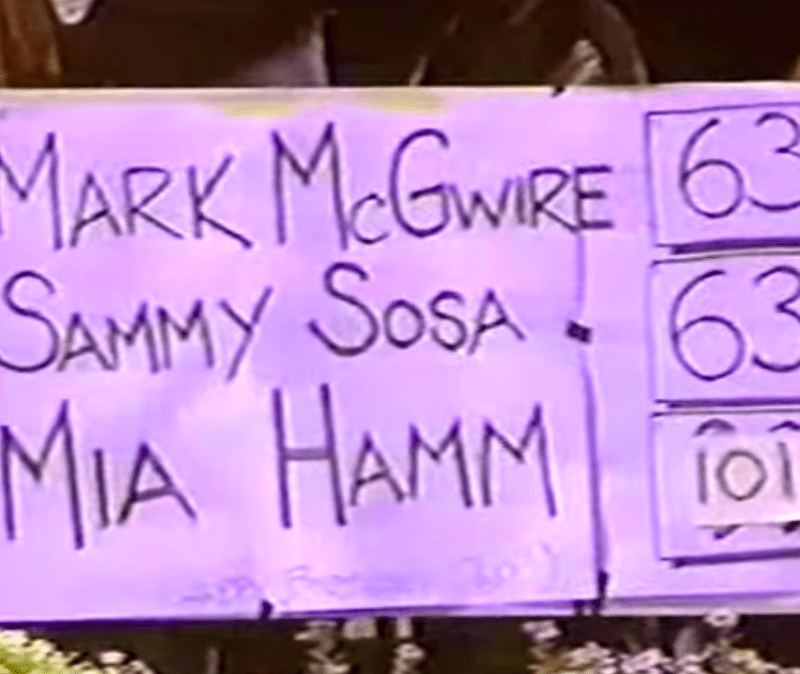 The Keeper's Notes On … USAvRUS 1998 (Hamm's 100th goal)