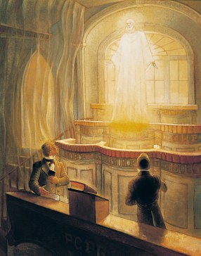 "Gary Smith, ""Jesus Christ appearing to Joseph Smith and Oliver Cowdry in the Kirtland Temple"