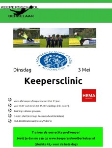 Poster clinic 3 mei