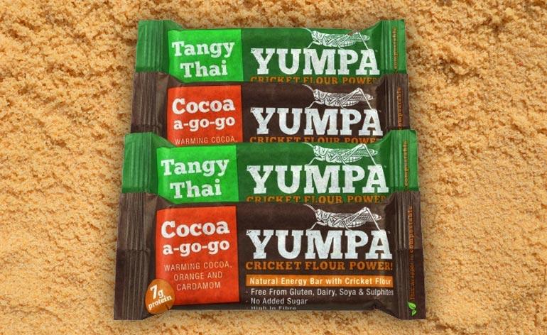 Yumpa Natural Energy Bars with Cricket Flour - Keep Fit Kingdom