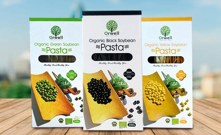 Orwell Health Organic, Vegan Soybean Pasta -Keep Fit Kingdom