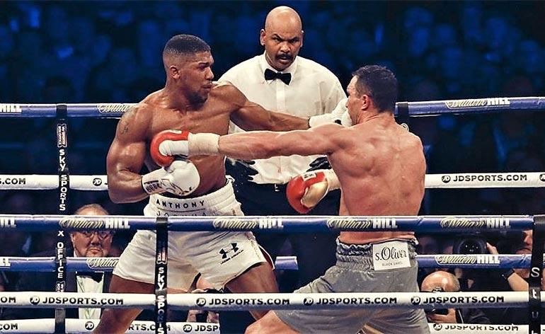 Top 5 Anthony Joshua Knockouts! - Keep Fit Kingdom