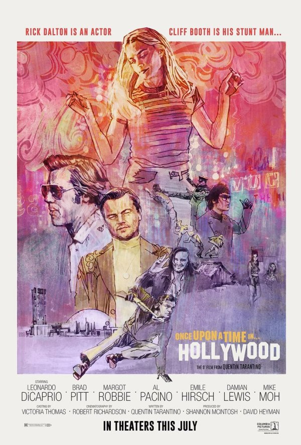 once-upon-a-time-in-hollywoodposterart