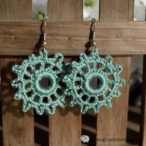 Ship's Wheel Earrings