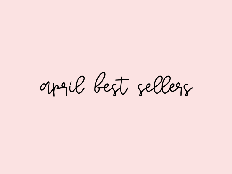 april best sellers