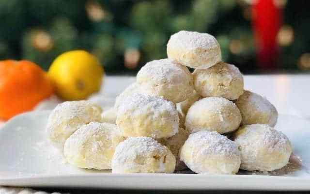 Easy and Delicious Citrus Snowball Cookies